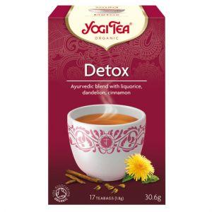 Detox, 17 tepåsar KRAV ekologisk