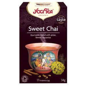 Sweet Chai, 17 tepåsar KRAV ekologisk