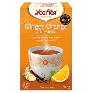 Ginger Orange Vanilla, 17 tepåsar KRAV ekologisk