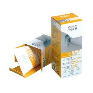 Eco Cosmetics SPF15 Solkräm, 75ml ekologisk