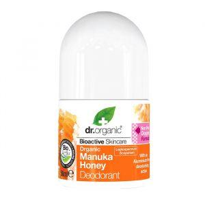Dr Organic Manuka Honey Deodorant, 50ml roll-on ekologisk