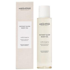 Vanilla Tangerine Instant Glow Body Oil, 100 ml ekologisk