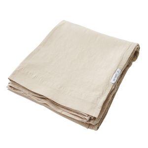 AB Småland Lakan Crinkle Sand – Ekologiska sängkläder