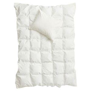 Påslakanset Enkel Crinkle Off White, 150 x 210 cm - Ekologiska sängkläder