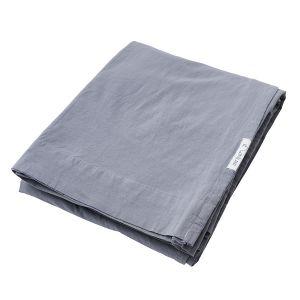 AB Småland Spjälsäng Lakan Dusty Blue – Ekologiska sängkläder