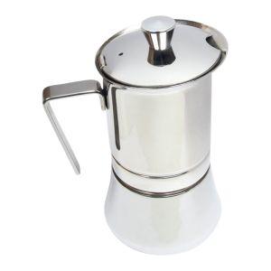Kaffebryggare Rostfritt Stål, 4 koppar