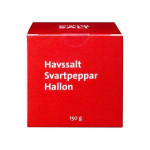 AlltGott Havssalt Svartpeppar Hallon – Salt smaksatt med peppar & hallon