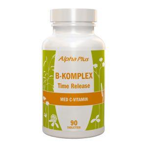 Alpha Plus B-komplex Time Release – kosttillskott med B-vitaminer