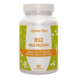 B12 med folsyra, 60 sugtabletter