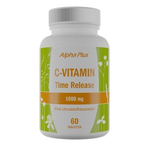 C-vitamin Time Release 1000 mg, 60 tabletter