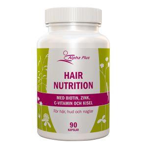 Alpha Plus Hair Nutrition – med biotin & zink
