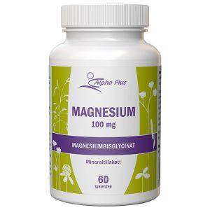 Alpha Plus Magnesium 100mg 60 tabletter