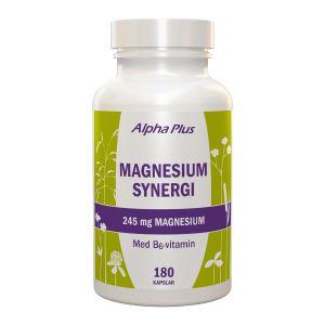 Alpha Plus Magnesium Synergi – kosttillskott med magnesium