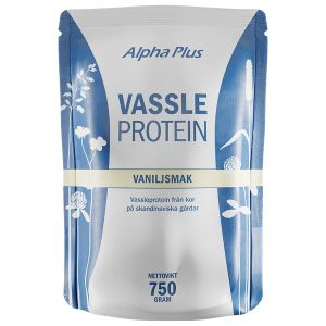 Alpha Plus Vassleprotein Vanilj – Ett proteinrikt kosttillskott