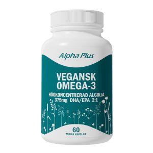 Vegansk Omega 3 Algolja, 60 kapslar