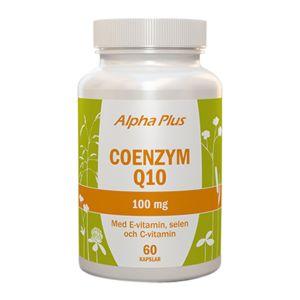 Coenzym Q10 med E-vitamin och Selen, 60 kapslar