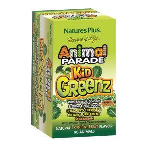 Köp Animal Parade Kid Greenz 90 tabletter på happygreen.se