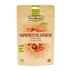 Aprikoskärnor bittra, 150g ekologisk