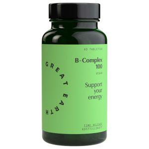 Great Earth B-Komplex 100 – kosttillskott med vitamin B-komplex
