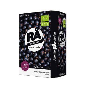 Bag-in-Box Svarta vinbär, 3l ekologisk
