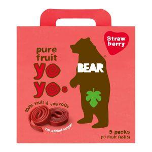 Bear Jordgubb Multipack – naturligt godis