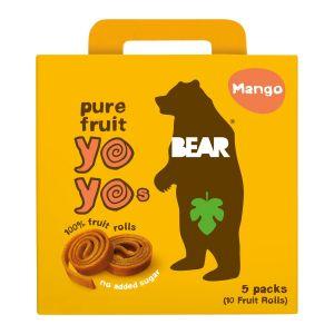 Bear Mango Multipack – naturligt godis