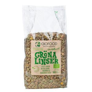 Linser Gröna, 500 g ekologisk