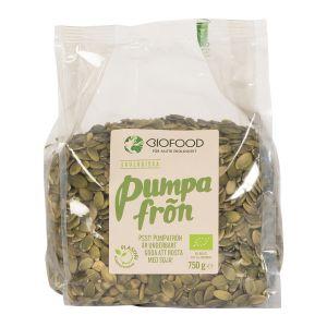 Köp Biofood Pumpafrön 700g - ekologisk på happygreen.se