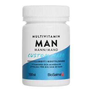BioSalma Multivitamin Man – med vitaminer & mineraler