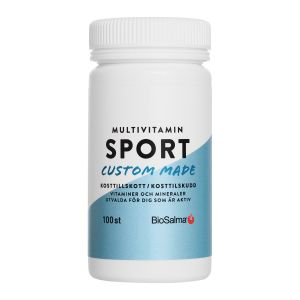 BioSalma Multivitamin Aktiv/sport – med vitaminer & mineraler