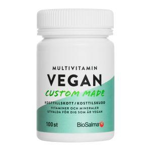 BioSalma Multivitamin Vegan – med vitaminer & mineraler