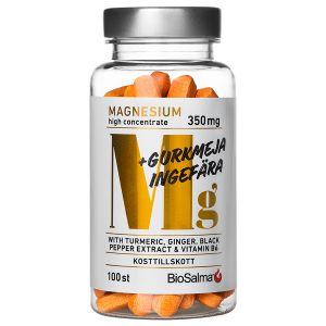 BioSalma Magnesium 350mg – kosttillskott med magnesium