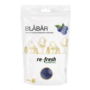 re-fresh superfood blabärspulver