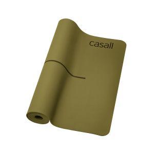 Casall Yoga mat Línea Green, 4mm