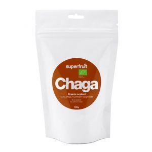 Superfruit Chaga pulver, 100g ekologisk