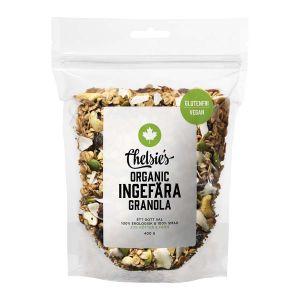 Chelsie's Organic Gourmet Granola Ingefära – Ekologisk & glutenfri Granola