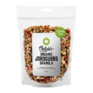 Granola Jordgubb, 350 g ekologisk