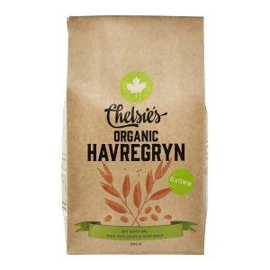 Organic Havregryn, 500 g ekologisk