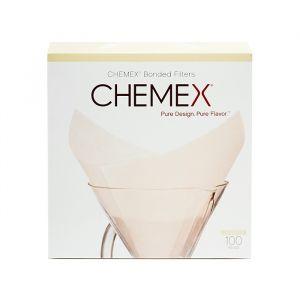 Chemex Classic Filter Square, 100 st