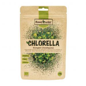 Chlorella pulver, 150g ekologisk