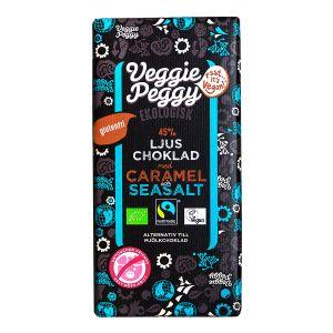 Veggie Peggy  Choklad Karamell & Havssalt – ekologisk