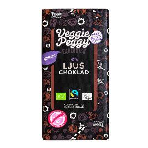 Veggie Peggy  Choklad Ljus – ekologisk