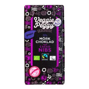 Veggie Peggy  Choklad Kakaonibs – ekologisk