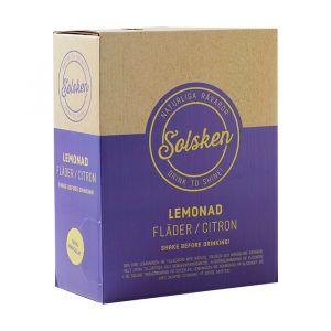 Citron & Fläder Lemonad 3l bag-in-box - Ekologisk fläder & citron lemonad