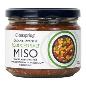 Miso Reducerad Salt Opastöriserad, 270 g ekologisk