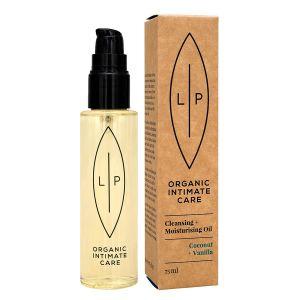Lip Organic Intimate Care Cleansing Oil Coconut + Vanilla, 75 ml