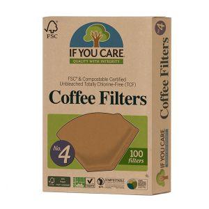 Kaffefilter No. 4, 100 st