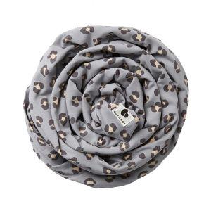 Coracor Bärsjal Leo Dove Grey – Bärsjal i ekologiskt GOTS-certifierad bomull