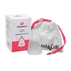 MonthlyCup Menskopp Normal – för måttliga till normala blödningar