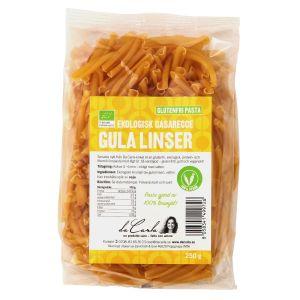 Pasta Gula Linser, 250g ekologisk